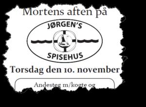 Mortens Aftens tilbud